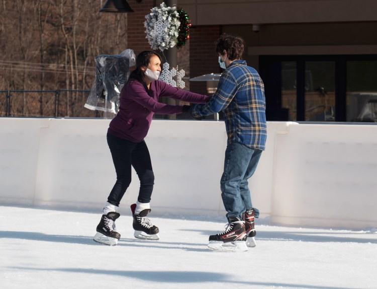 why wheeling ice rink