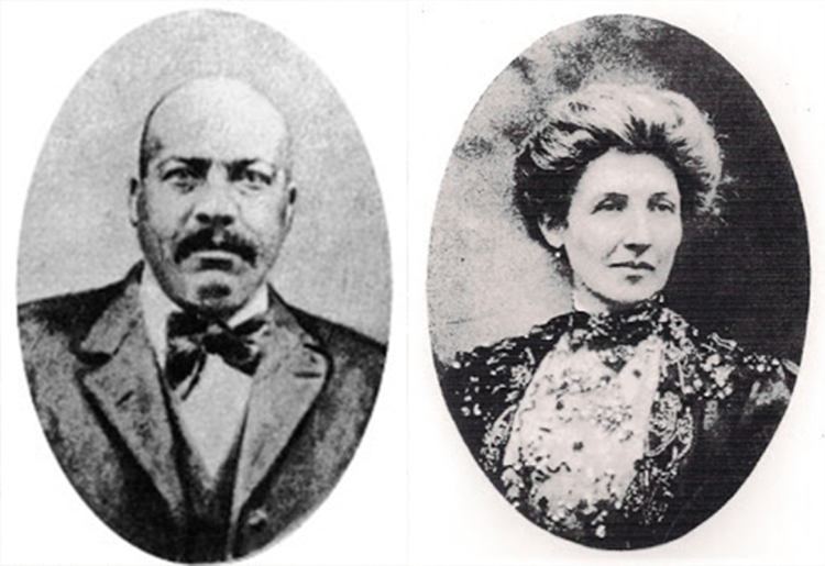 Portraits of Cumberland and his wife Anna