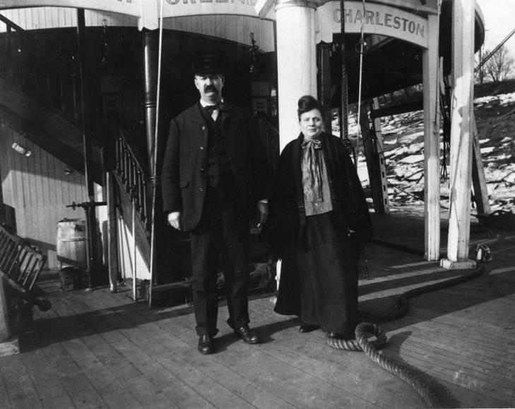 Captains Gordon and Mary B. Greene