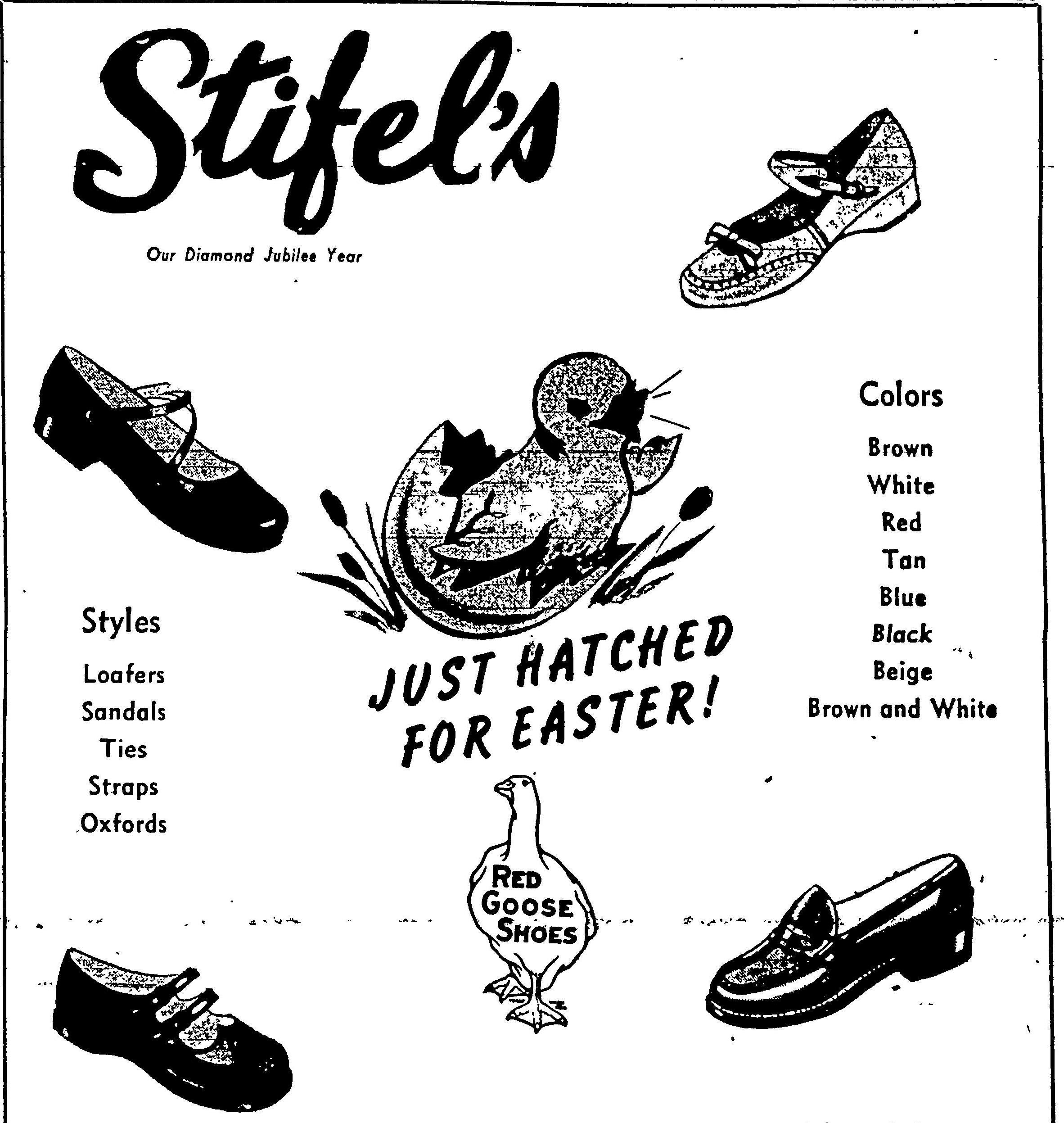 Stifel's - Wheeling Intelligencer, March 19, 1953