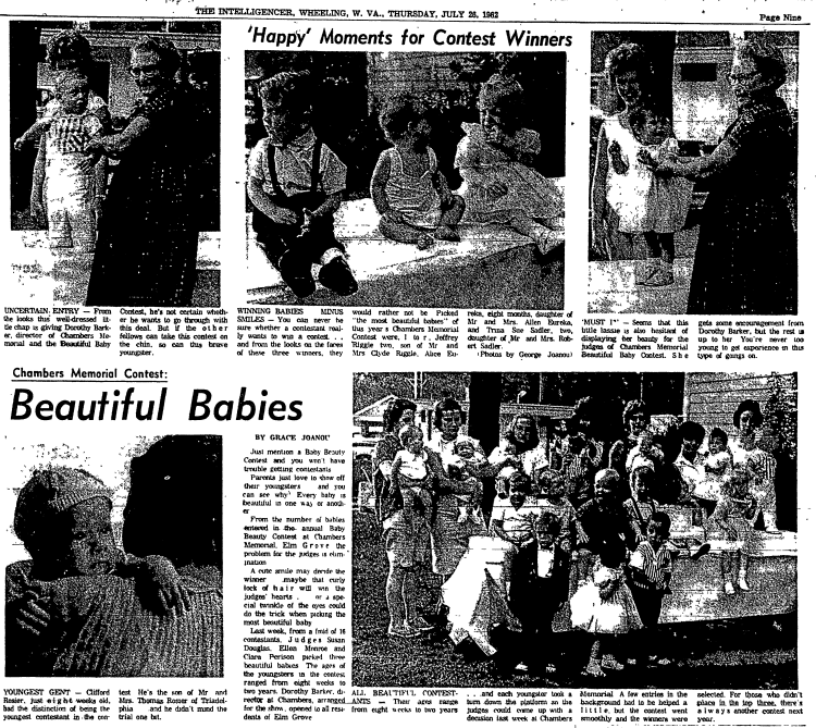 Baby Beauty Contest, 1962