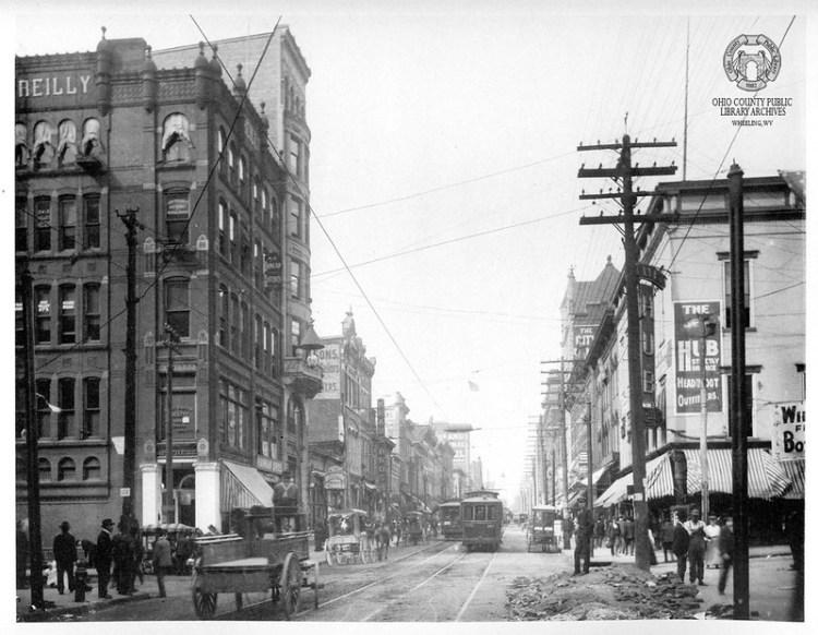 View of Market Street, circa 1904