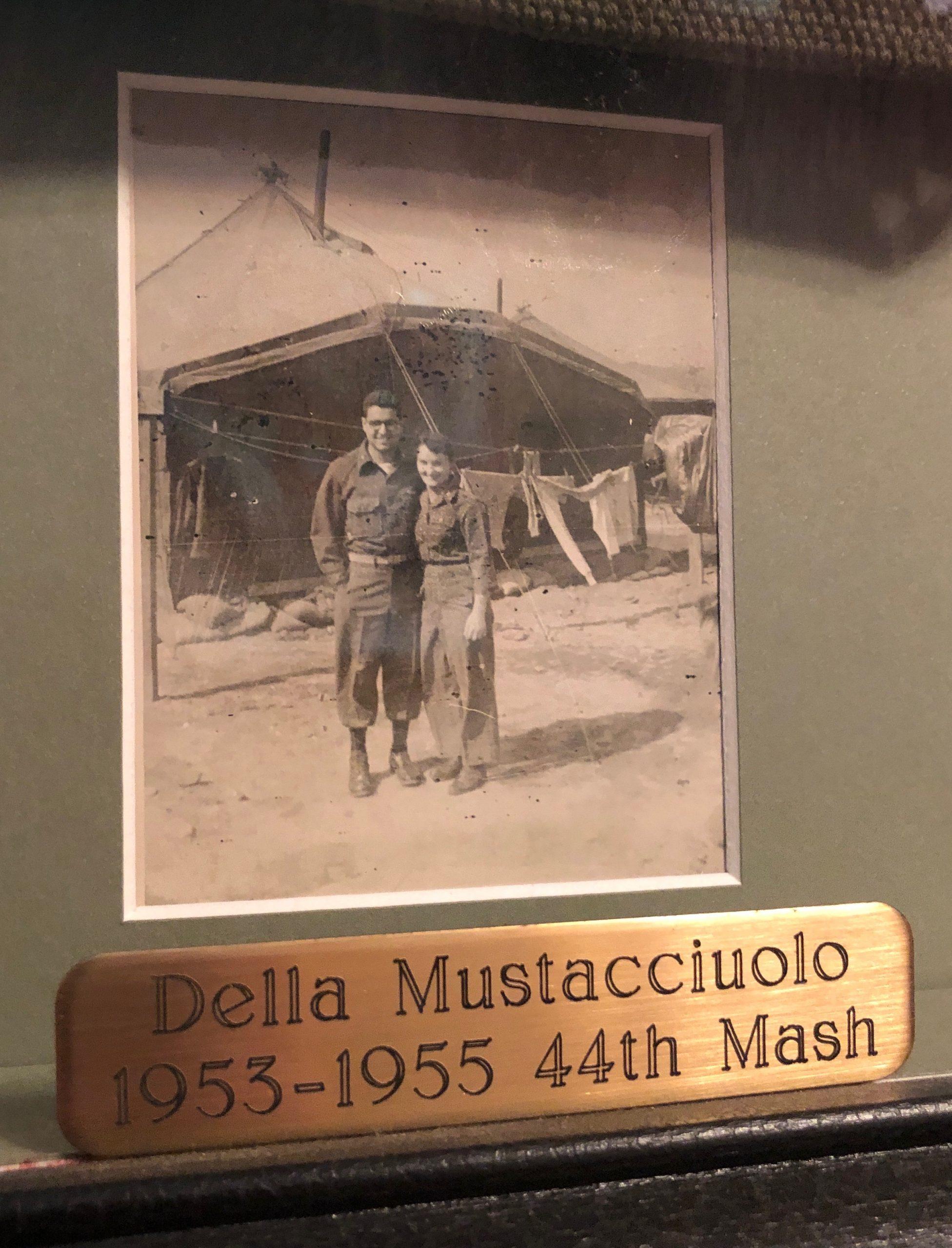 Sam and Della serving together at the 44th MASH