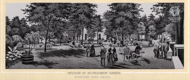 Wheeling Park Refreshment Garden