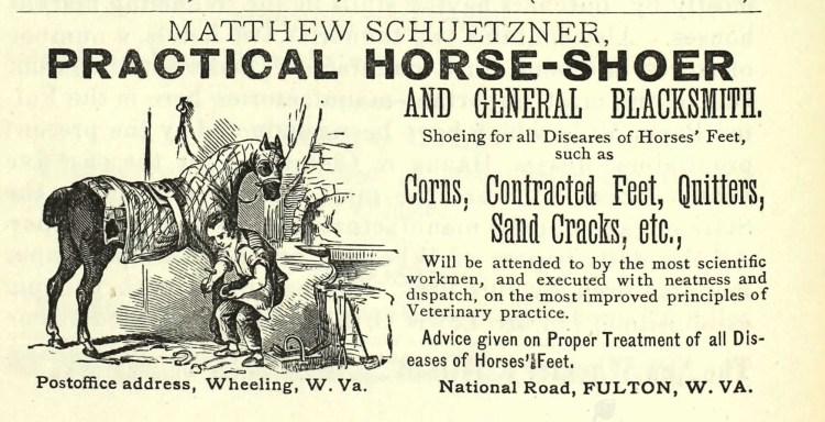 Schuetzner Blacksmithing Ad