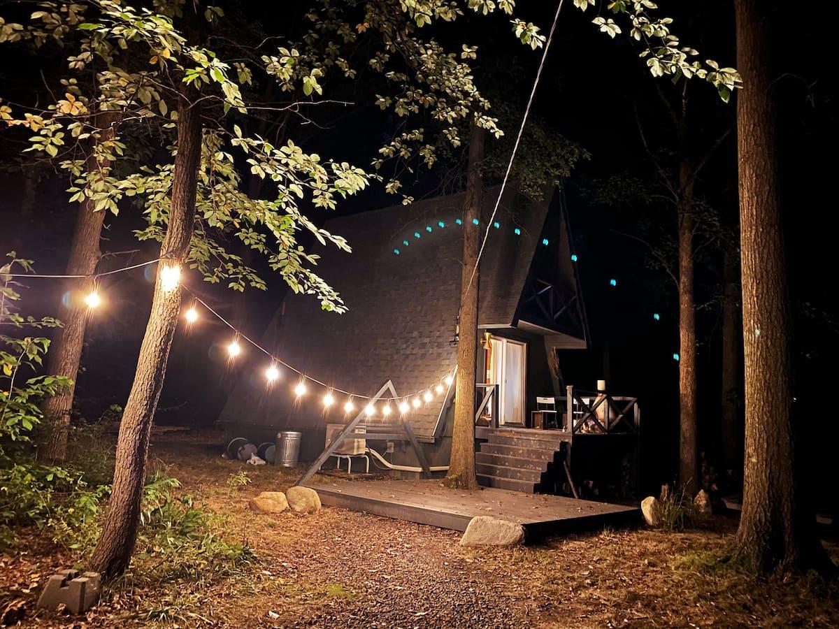 Triangle Cabin Air Bnb