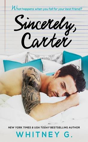 Book Review: Sincerely, Carter by Whitney G.