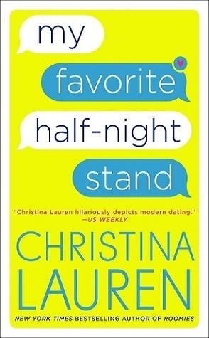 Book Boyfriend: Reid Campbell from My Favorite Half Night Stand by Christina Lauren