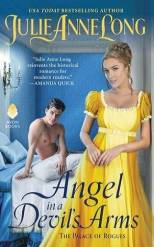 Book cover for Angel in a Devils Arms by Julie Anne Long