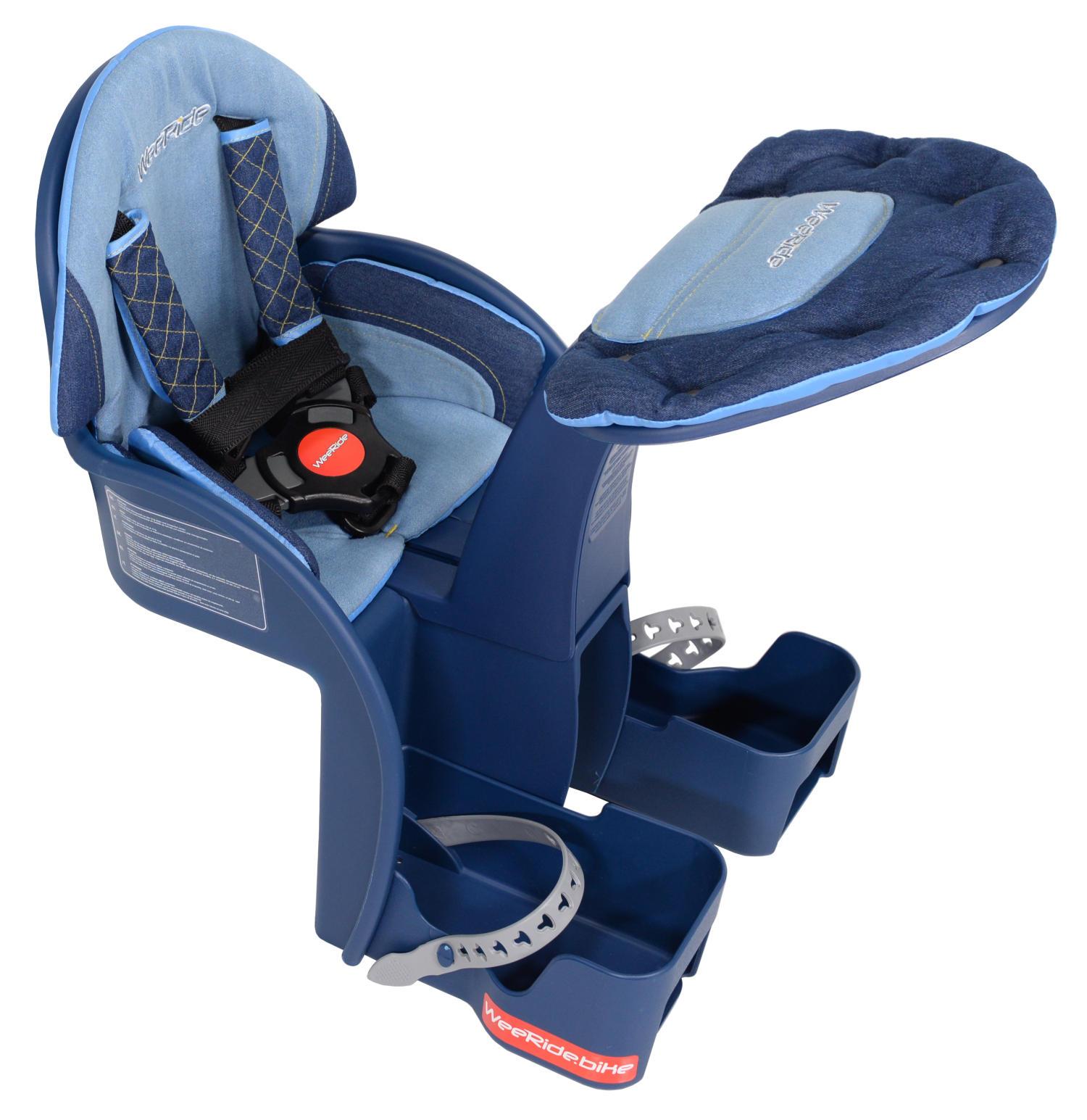 WeeRide Safe Front Deluxe Baby Bike Seat - Blue – Weeride UK
