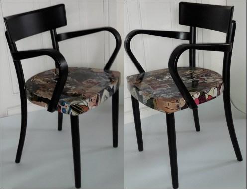 Picasso stoel van Ernie