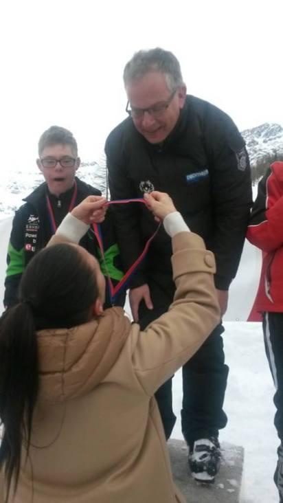 Lucas Olympische medaile