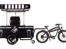 OverHoop Coffee bike