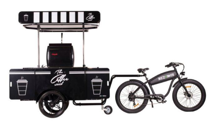 OverHoop Coffee bike