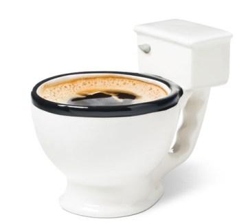 OverHoop Koffie-Toilet kop