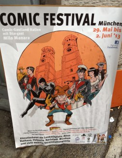 Comics fair in the Old Town Hall