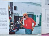 Holiday in Positano with straw hat