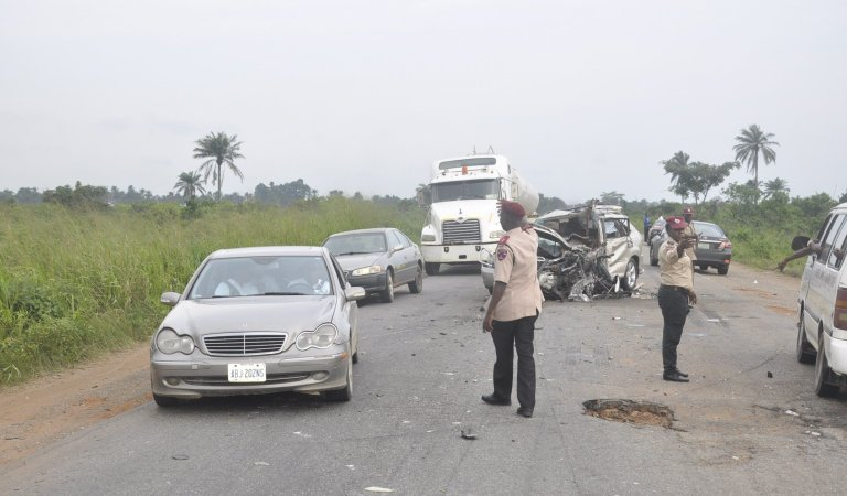 BREAKING! Two FRSC Officers Killed, 10 Kidnapped In Highway Bandits Attack
