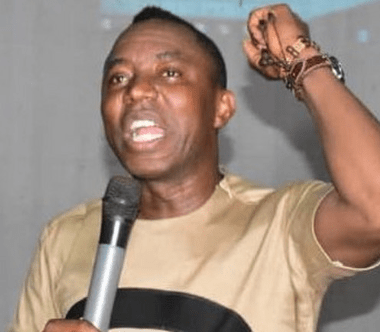 SOON! FG planning to arrest me, infect me with coronavirus for exposing Abba Kyari's COVID-19 test result — Sowore cries out