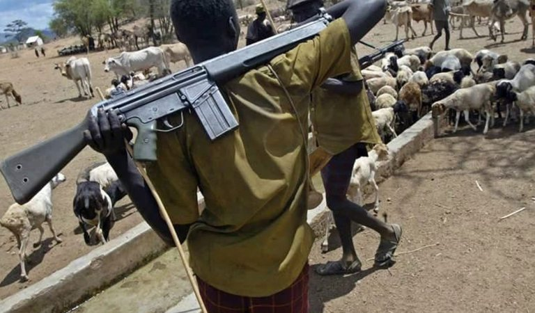 BREAKING!! Nigerian Soldiers Escort Herdsmen to Ogun State, Flog Residents For Refusing Herders