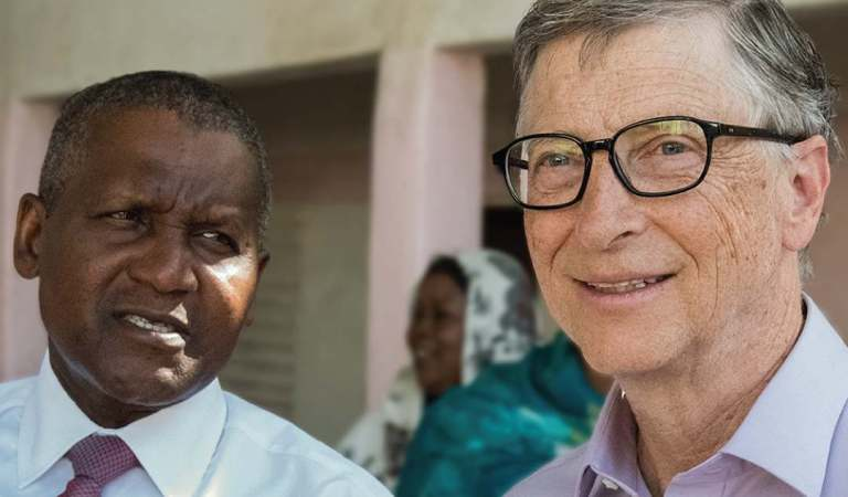 """We have a lot in common"" – Bill Gates reveals he's working with Dangote to improve malnutrition in Nigeria"