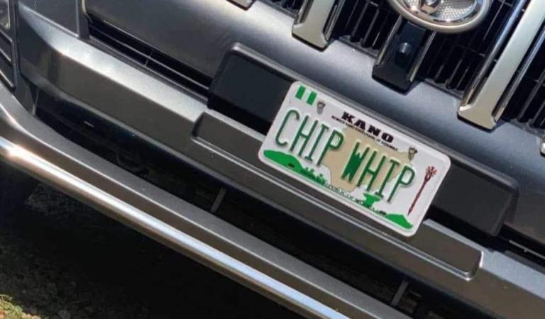 'CHIP WHIP': FRSC denies production and issuance of illegal number plate in KANO, says it's fake