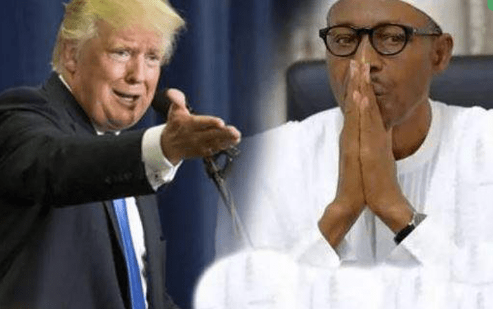 High Tension : Presidency reacts to Trump's plan to ban Nigerians from United States