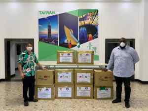 COVID-19: Taiwan Donates Medical Supplies To C/River Govt