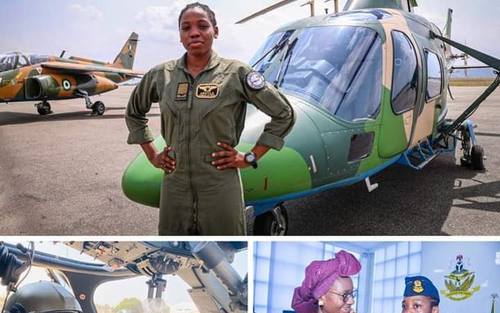 SAD NEWS: Nigeria's First Female Combat Helicopter Pilot Dies At 23