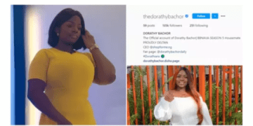 #bbnaija2020: Dorathy Becomes First Female Housemate To do this