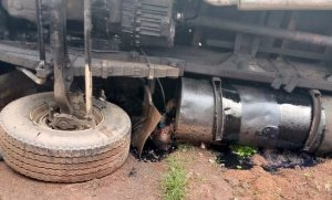 OH MY GOD!! Pregnant Woman And Her Child Crushed To Death In Ebonyi (Disturbing Photos)