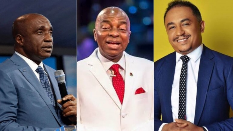 WONDER SHALL NEVER END!! Drama As Two Popular Nigerian Pastors Fight Dirty Over This...