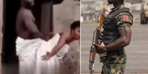 Shameful!! Man Stuck With Soldier's Wife After Encountering Charm