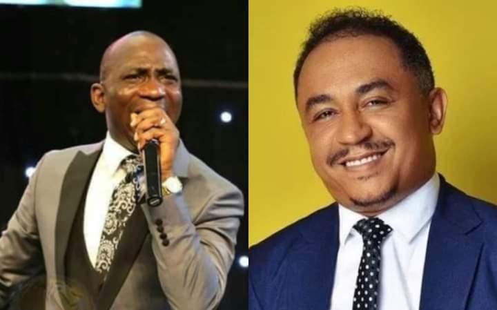 VIDEO: You Are A Mad Dog For Criticizing Oyedepo — Paul Enenche Blasts Daddy Freeze