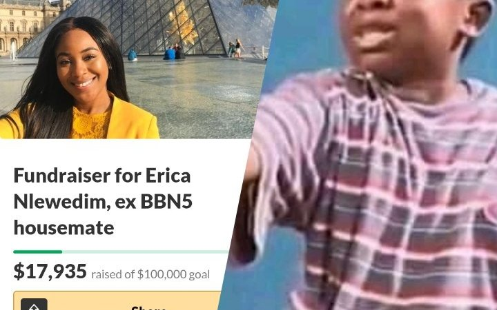 BE SINCERE! Imagine Seeing The Name Of The Person Owing You Among Those Donating Money To Erica, WHAT WILL YOU DO?