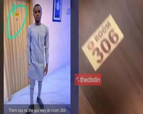 NA WAO!! Man In Room 306 Finally Shows His Face After Chopping The Girl So Many Rounds (Photo & Video)