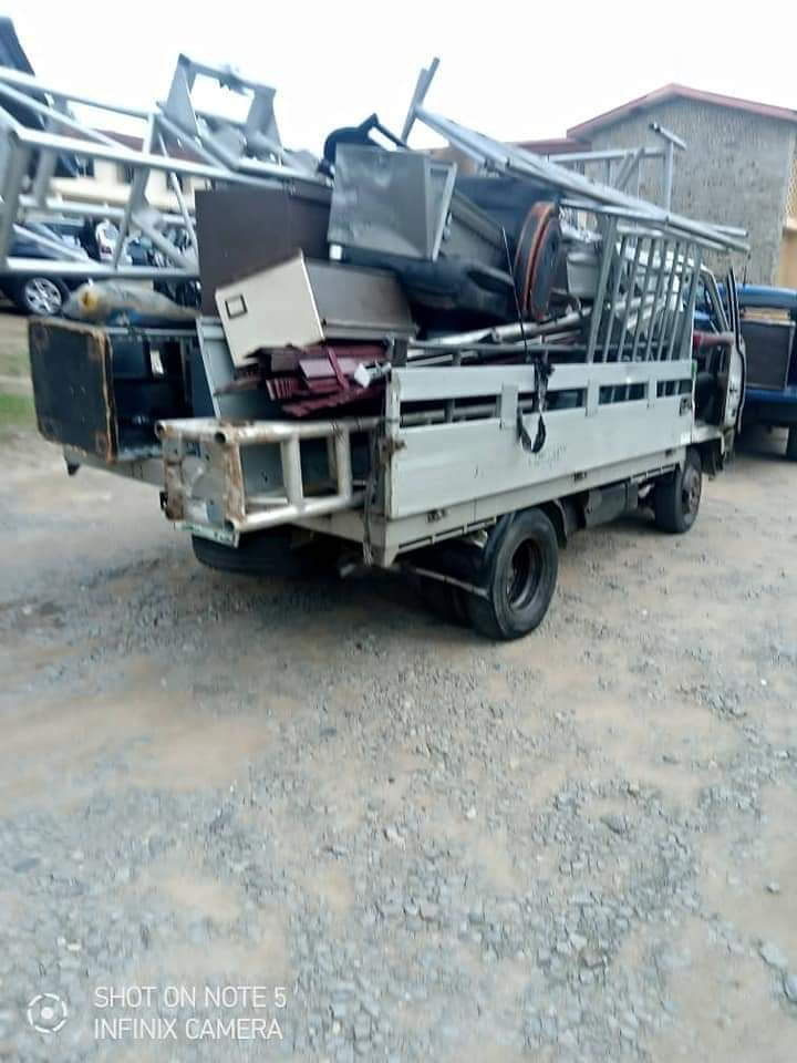 HOT! House-To-House Search Continues In Calabar As Police Arrest Mastermind of CICC Looting, Recover over 1,000 Chairs, Others