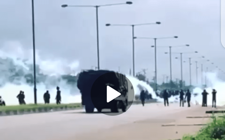 #EndSars: Militant Engages In Gun Battle With Soldiers In Calabar (VIDEO)