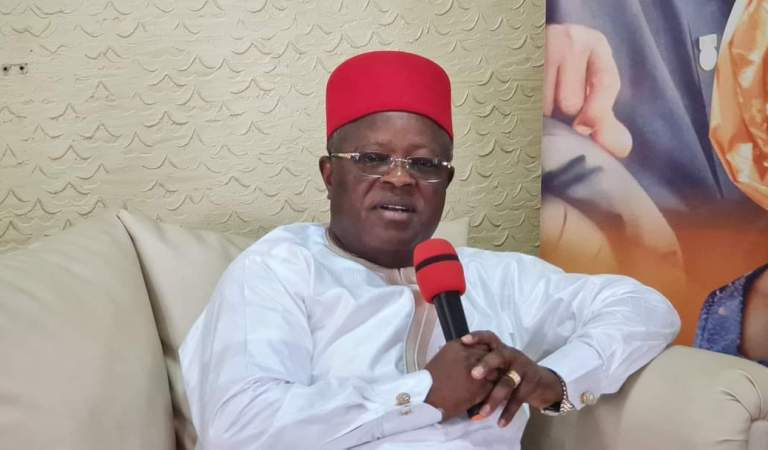 This May Be Your Last Fight, If You Try Me – Umahi Warn Anyim, Ex- gov Egwu, Other NASS members