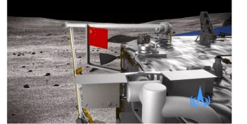 PhotoNews: China Mounts Its Flag On The Moon