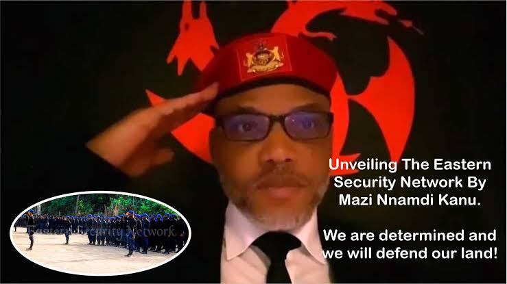 Nnamdi Kanu Vows To Stop All Military Attacks In Biafra Land, Promised To Recruit More ESN Personnel