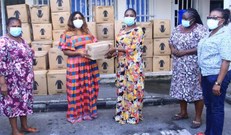 COVID-19 Second Wave: Cross River Govt Distributes COVID-19 Items To More Than 4,000 Frontline Health Staff (Photos)