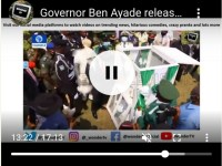 Ben Ayade, Governor of Cross River, Shows APC How Pigeons Fly In A Peaceful Society (Video)