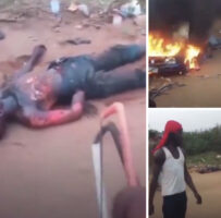 BREAKING!! Crisis Looms In Nigeria As Edo Youths Burnt Five Fulani Herdsmen To Death