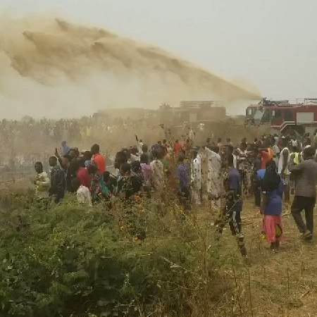 BREAKING!! Uproar As Plane Crashes In Abuja (Video+Photos)