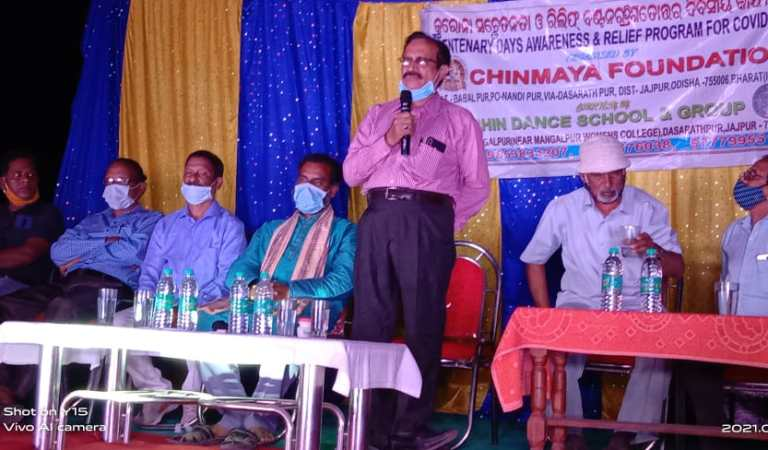 Day 343 Of Covid-19 Awareness, Sanitising & Cleaning Program in JajPur District [Photos]