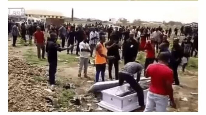 Shock As Corpse Wakes Up In The Middle Of Burial Ceremony [Watch Video]