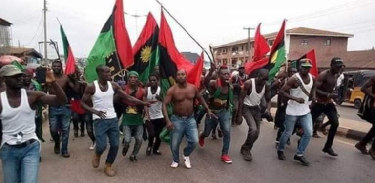 HOT!! IPOB Transporting Bombs and Explosive Devices From Lagos To Imo State