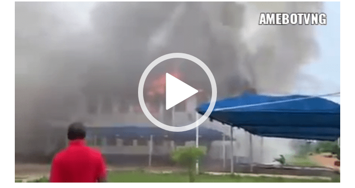 BREAKING!!! Imo State House Of Assembly Allegedly On Fire [Video]