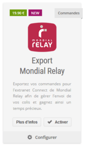 Temps De Livraison Mondial Relay : temps, livraison, mondial, relay, Mondial, Relay, Importer, Commandes, Expédier